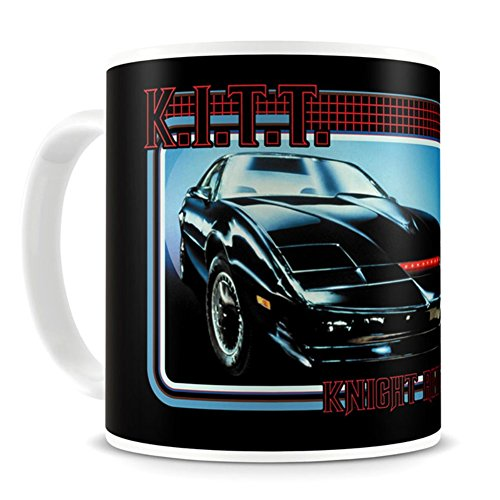 Official Retro TV Knight Rider K.I.T.T. Car Coffee Mug - Boxed