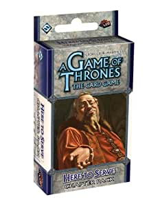A Game of Thrones: The Card Game Expansion: Here to Serve Chapter Pack