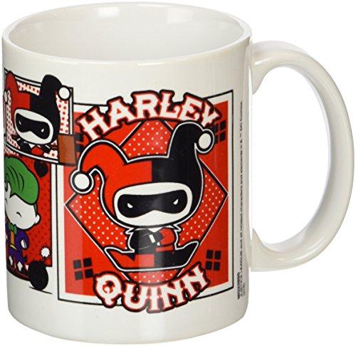 Justice League Harley Quinn, della serie a fumetti Chibi-Tazza in ceramica, multicolore