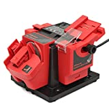 #8: Rishil World 230-240V 96W Electric Multifunction Knife Sharpener Grinding Drill Tool