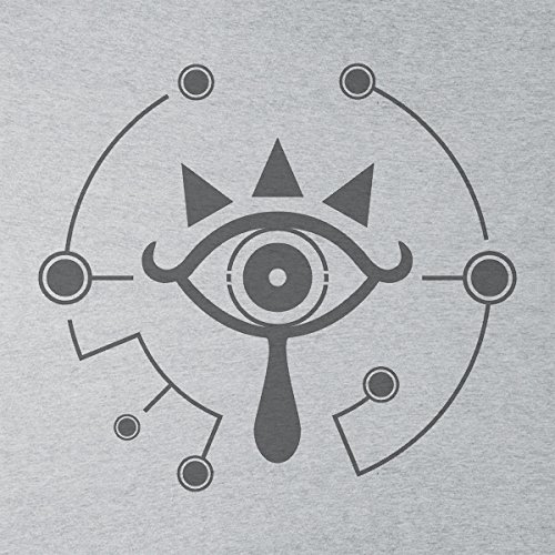 Legend Of Zelda Breath Of The Wild Sheikah Eye Men's Vest Heather Grey