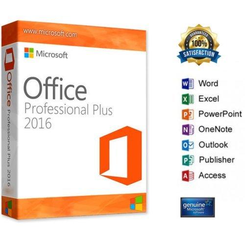 MultiPack - Office 2016 Pro - Senza Scadenza - Una licenza da utilizzare con 5 PC - 100% Genuino - Garantito