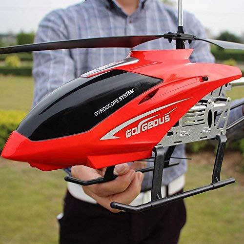 SSBH Flugzeug LED Stabilisierungssystem Indoor/Outdoor RC Hubschrauber 3,5 Kanäle RC Drone Flugzeug Spielzeug for Kinder Teenager Geschenke USB Ladekabel Fernbedienung Hubschrauber Spielzeug