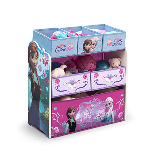 Delta Children Disney Minnie Mouse Organizador de Juguetes multipapelera