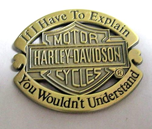 metal-enamel-pin-badge-brooch-antique-brass-finish-harley-davidson-explanation