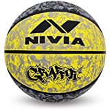 Nivia Graffiti Basketball - Size: 7
