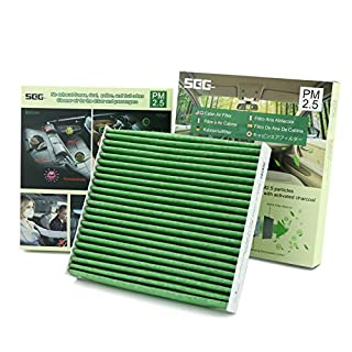 SEG Direct Cabin Air Filter, Filters 98% Fatal PM2.5, For Cleaner Air