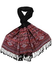 LOVARZI Damen Schal, Aztekisch One size