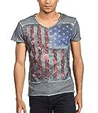 Photo de trueprodigy Casual Homme Tee Shirt Motif imprimé, Vetements Swag Marque col V Manche Courte & Slim fit Classic, t-Shirt Mode Fashion par trueprodigy