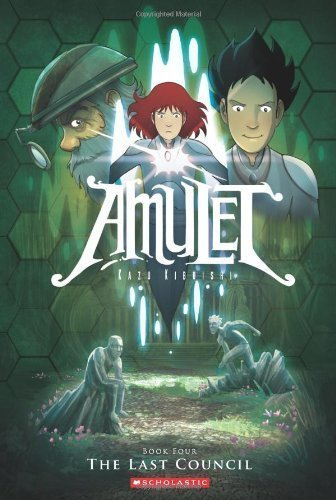 Amulet Book Four: The Last Council by Kazu Kibuishi (Sep 1 2011)