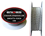 Dynas® Fused Twisted Clapton Wire 5 Meter (5m) Spool RBA RDA Kanthal A1