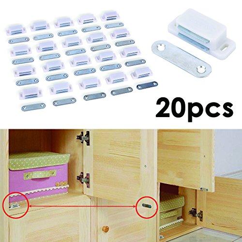 2-lot-de-20-heavy-duty-magnetique-porte-de-placard-loquet-de-porte-armoire-blanc-solide-6-kg