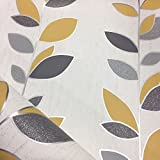 Synergy Leaf Wallpaper Glitter Sparkle Luxury Textured Vinyl 4 Colours