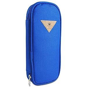 Katara 1800 Estuche de Lápices Escuela / Oficina Papelería - Bolso Escolar Portalápices, Azul Oscuro