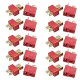 10 Ensembles De T Connecteurs Mâles Et Femelles Pour La Batterie Lipo