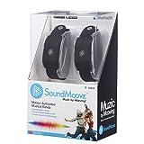 Soundmoovz Set de 2 Pulseras Muzic by Mooving para Crear y componer Sonidos y Música, Color Negro (Fábrica de Juguetes 41238)
