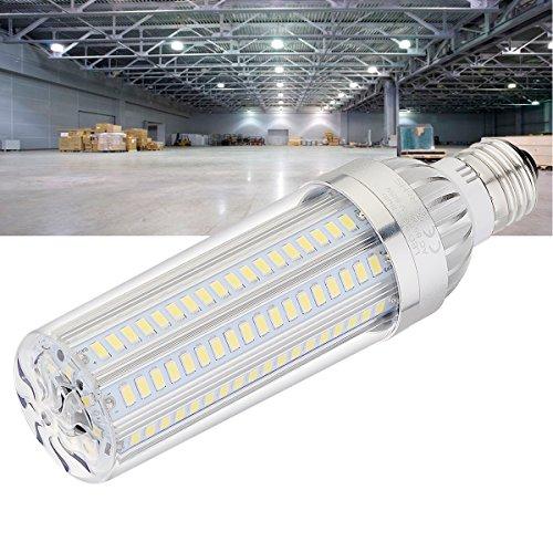 BOGAO E27 LED Mais Glühbirne 50 W (380 Watt ähnlich) Glühlampe, 5400 Lumen, 360 Grad Licht für großflächige Street Lampe Garage Highway Lager Super Hell, weiß, (6500 K, 1 PCS)
