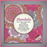 Mandala Cahier à colorier design pour filles - 200 originaux - Un livre à colorier zen - Dessins faits à la main - Convient à tous les âges - Pages de ... - Livres de coloriage calmes pour la détente...