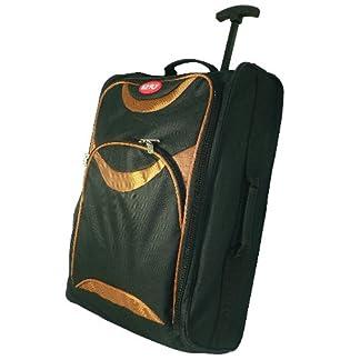 Aire Cabina Trolly bag. Bolsas de viaje. Llevar equipaje. Tire de asas. Con ruedas. Naranja