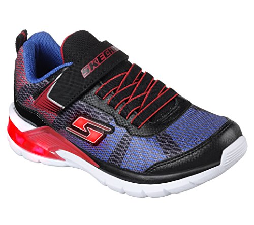 01308a13bb02 Skechers Boys Erupters Ii Lava Waves Light Up Sporty Trainers Shoes