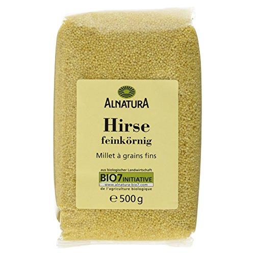 Alnatura Bio Hirse feinkörnig, 4er Pack (4 x 500 g)