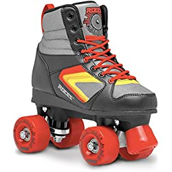 Roces Kolossal Quad Skates, Multicolor/Negro, 38