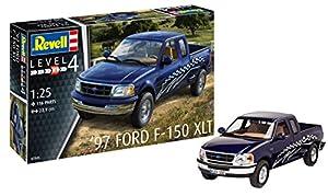 Revell Maqueta 1997 Ford F-150 XLT, Kit Modelo, Escala 1:25 (7045)(07045), 22,9 cm de Largo