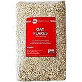 Prozis 100% Natural Whole Oat Flakes 1kg - Cereales Repletos de Proteína, Hidratos de Carbono de Primera Calidad y Fibra Saciante - Apto para Vegetarianos y Veganos - 41 Dosis