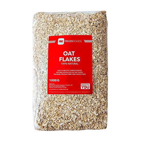 Prozis 100% Natural Whole Oat Flakes 1kg - Cereales Repletos...