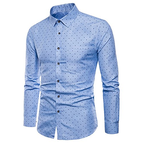 3f82ac77e9cbc8 JUTOO Mens Long Sleeve Oxford Formal Casual Suits Slim Fit Tee Dress Shirts  Top BU/