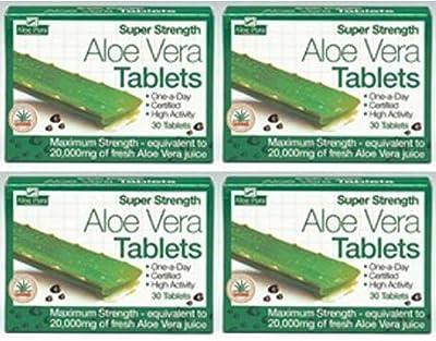 (4 PACK) - Aloe Pura - Super Strength Aloe Vera   60's   4 PACK BUNDLE