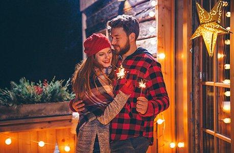 Geschenkgutschein: Silvester-Urlaub für vier Personen in den Leoganger Bergen