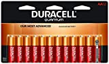 Duracell Duracell - Quantum AA Alkaline Batteries - Long Lasting, All-Purpose Double A Battery for Household and Business - 12 Count