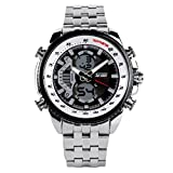 XUE Herren Mechanische Uhr Dress Watch Automatische Kalender/Datum/Tag Chronograph Wasserdicht Commerce Uhr (Stil : Ein)