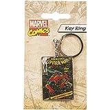 Spiderman Comic Diseño Llavero de metal