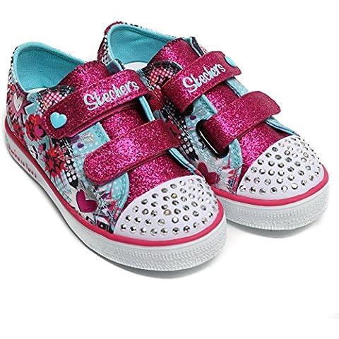 Twinkle Toes by Sketchers Twinkle Breeze Pop-Tastic Sneakers