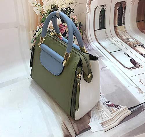 ZHANGJIA Frauen - Koffer, Tasche, Mode, umhängetasche, Legere atmosphäre, Handtasche,grüne -