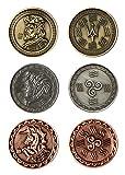 LARP-Münzen Wasser / Fantasy-Währung Spiel-Geld von Battle-Merchant Ausführung ohne Beutel