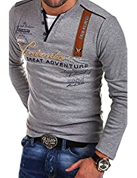 MT Styles 2in1 Longsleeve ADVENTURE T-Shirt R-0663