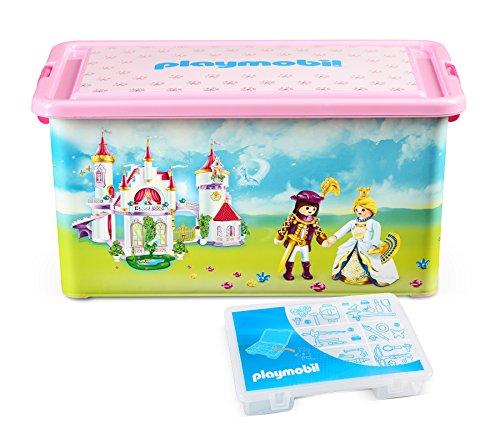 Playmobil 064662 - Caja compartimentos juguetes, diseño