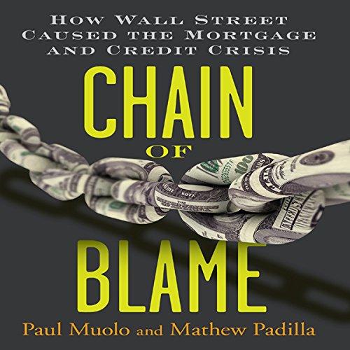 Chain of Blame  Audiolibri