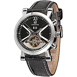 Forsining Men's Fashion Automatic Calendar Steampunk Wrist Watch FSG2371M3S1