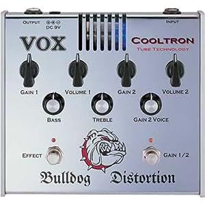 VOX - BULLDOG - pedale a lampe dist. bulldog