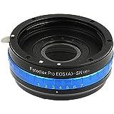 Fotodiox Pro Adaptateur de monture d'objectif avec Iris Ouverture - pour Objectif Canon EOS EF/ EF-S à Caméra Sony E mount comme Sony Alpha a7/ a7II/ NEX-5/ NEX-7