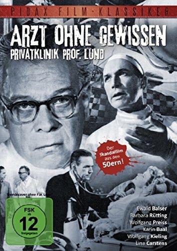 Pidax Film-Klassiker: Arzt ohne Gewissen - Privatklinik Prof. Lund