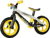 Chillafish BMXie-RS Bicicleta de Aprendizaje, Unisex niños, Amarillo, Única
