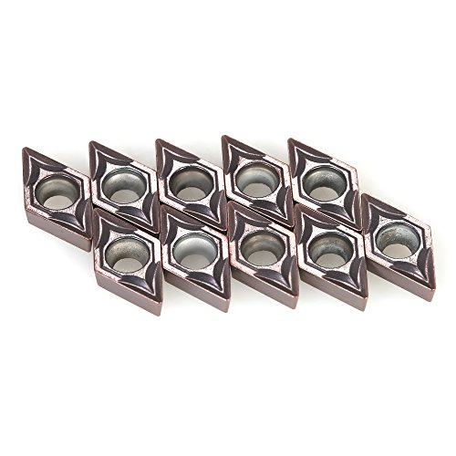 kkmoon 100/BOX Hartmetall fügt DCMT070204vp15tf dcmt21.51CNC-Klingen Cutter Drehmeißel (Cnc-cutter)
