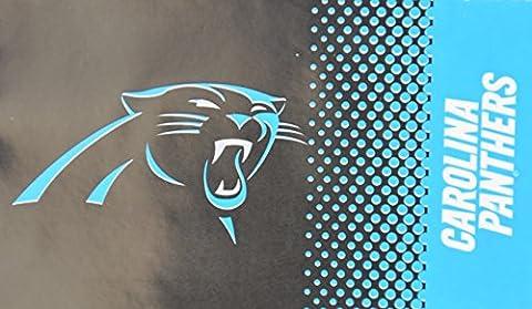 NFL équipe Fade Flag, Carolina Panthers