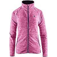 20d59e89b013 Unbekannt Fleecejacke Damen   Outhorn PLD600A   Warm Fleecepullover mit  Stehkragen   Weiche Sweatjacke   Sweatshirt