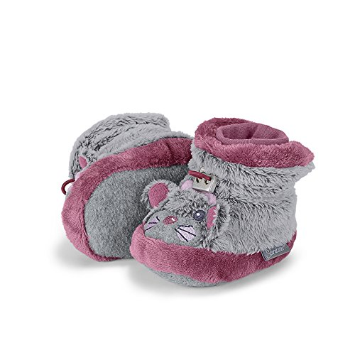 Sterntaler Schuh, Chaussons pour enfant bébé fille - Rose - Pink (Dahlie 766), 18